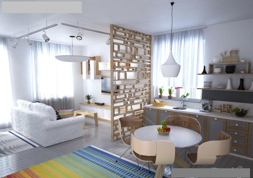 Дизайн скандинавской гостиной